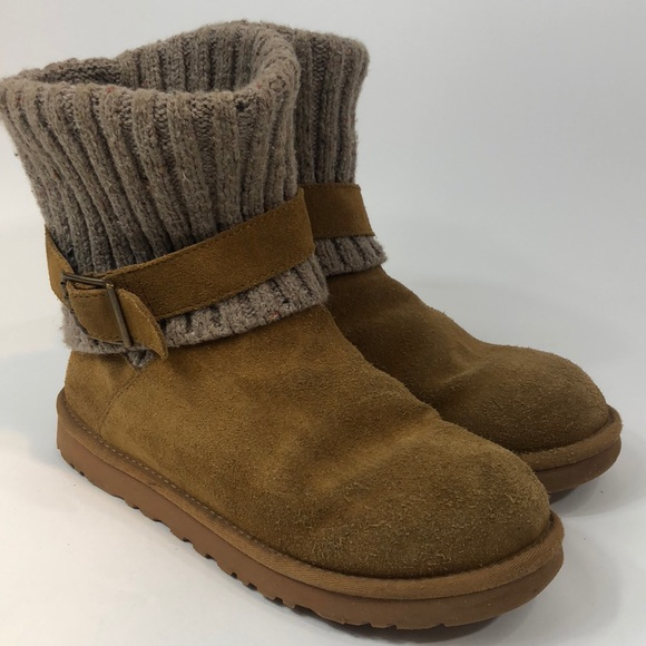 054131376a3 Ugg 1003175 Cambridge tan suede boots size 9